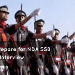 NDA SSB interview