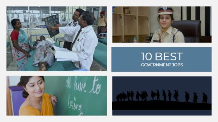 Best govt jobs