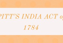 Pitt's India Act