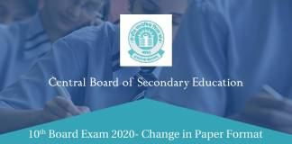 CBSE Exam 2020 pattern change