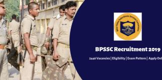 BPSSC Recruitment 2019