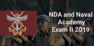 NDA and Naval Academy Exam (II) 2019