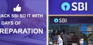 Crack SBI SO IT with 20 days of preparation
