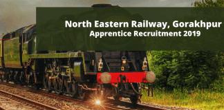 Railway Recruitment Cell (RRC) NER Gorakhpur Apprentice Recruitment 2019
