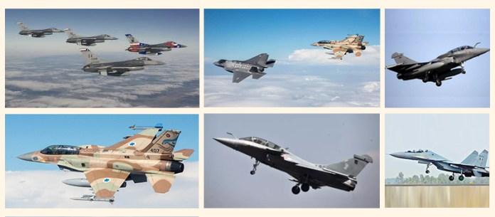 Fighter jets of IAF