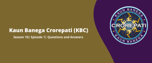 KBC answers