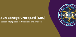 KBC answers