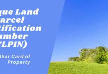 Unique Land Parcel Identification Number (ULPIN)