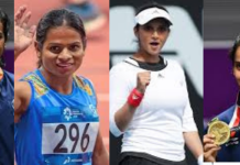 famous sports women in India