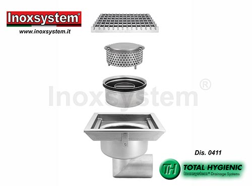 hygienic low profile floor drains