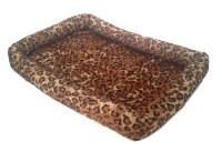 PET BED - LEOPARD PRINT - Dog or Cat Pillow PLUSH NEW! | eBay