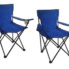 Folding Quad Chair Wood Horse Rocking Set Of 2 Camp Chairs W Bags Fishing Beach