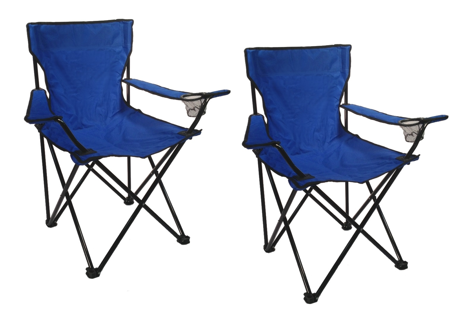 Tailgating Chairs Set Of 2 Folding Camp Chairs W Bags Fishing Beach