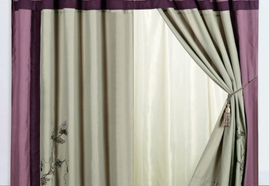 Gray And Purple Curtains Ebay
