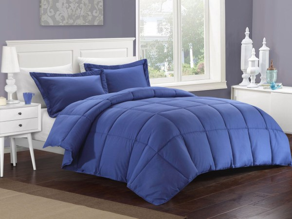 Navy Down Alternative Comforter