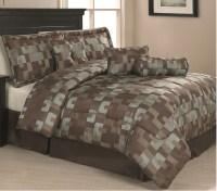 11 Piece Queen Riviera Geo Bed in a Bag Bedding Set | eBay