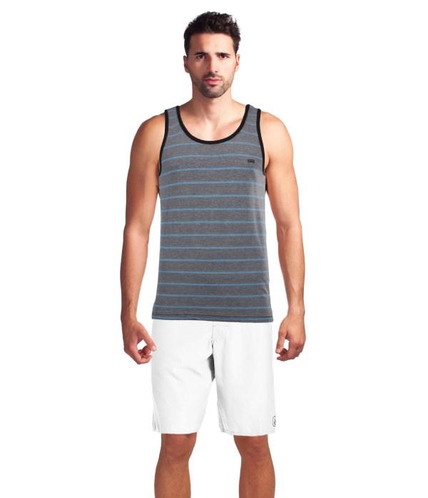 Vans Men' Marcel Classic Striped Tank Top Shirt