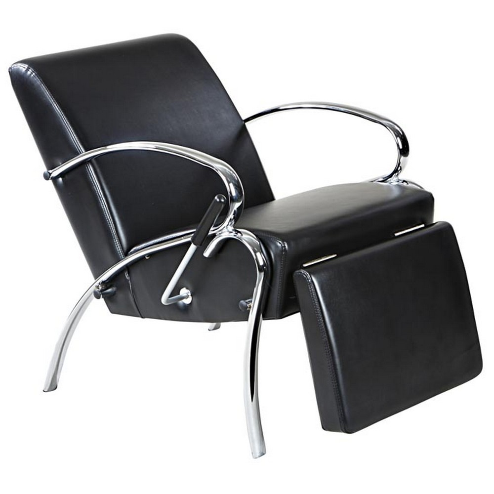 Lounge Shampoo Chair w Footrest Beauty Salon  eBay