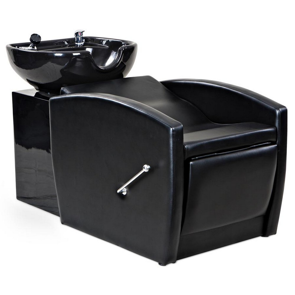 Gardner Black Beauty Salon Shampoo Chair  Sink Bowl Unit