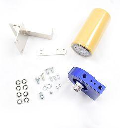 cat fuel filter adapter kit for 2004 5 2007 dodge ram 5 9l cummins diesel 5 9 [ 1600 x 1066 Pixel ]