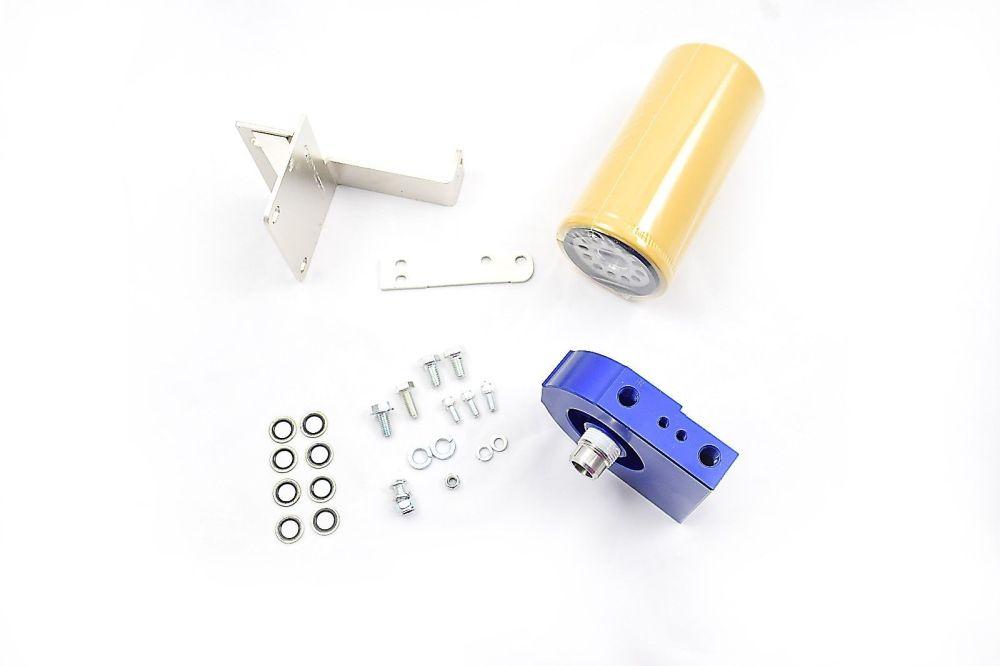 medium resolution of cat fuel filter adapter kit for 2004 5 2007 dodge ram 5 9l cummins diesel 5 9