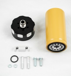 rdp cat fuel filter adapter for 01 16 gm 6 6l lb7 lly lbz lmm [ 2048 x 1366 Pixel ]