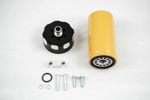 small resolution of rdp cat fuel filter adapter for 01 16 gm 6 6l lb7 lly lbz lmm
