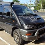 4x4 Snorkel Kit For Mitsubishi Delica L400 Spacevan For 2 5l Diesel Engine Ebay
