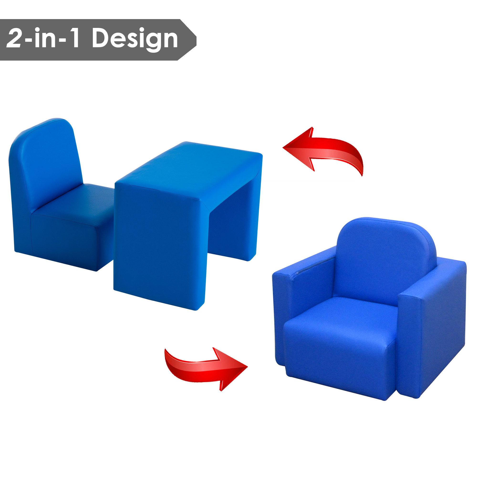 Boys Chair Details About Kids Mini Sofa 3 In 1 Table Chair Set Armchair Seat Relax Children Girl Boys