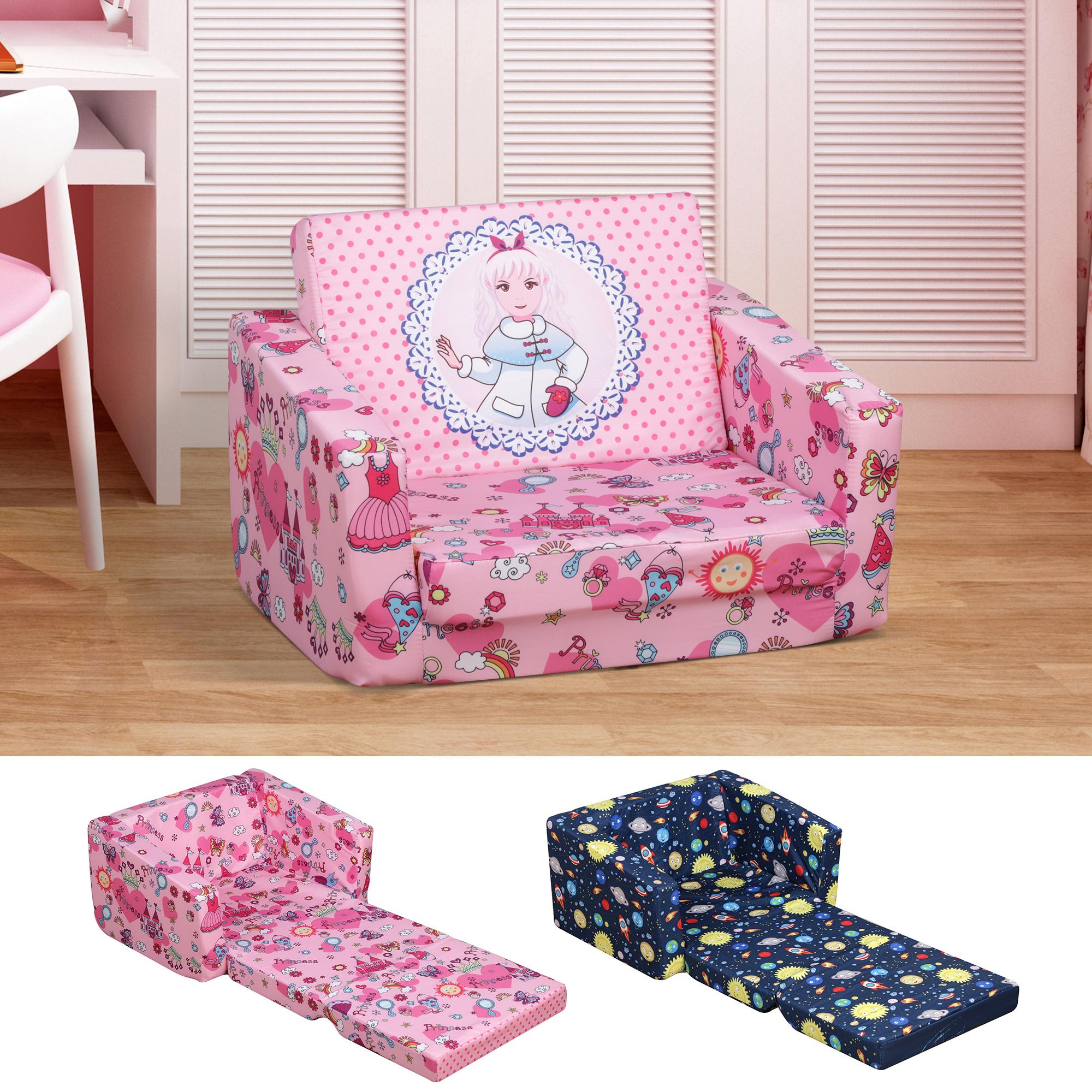 Children Kids Mini Sofa Armchair Polyester Comfortable Dual Use Washable Ebay