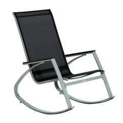 Steel Net Chair Accent Bedroom Chairs Outdoor Rocking Patio Furniture Mesh Seat Rocker Garden Details About Poolside