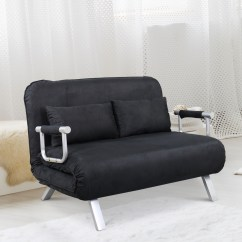 Faux Suede Sofa Cover Con Full Size Convertible Sleeper Bed Lounger Chair