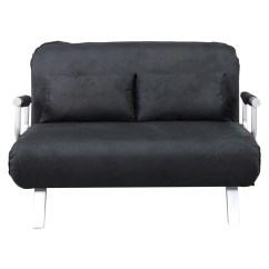 Full Size Sleeper Sofa Slipcover Indonesian Style Convertible Bed Lounger Chair Faux