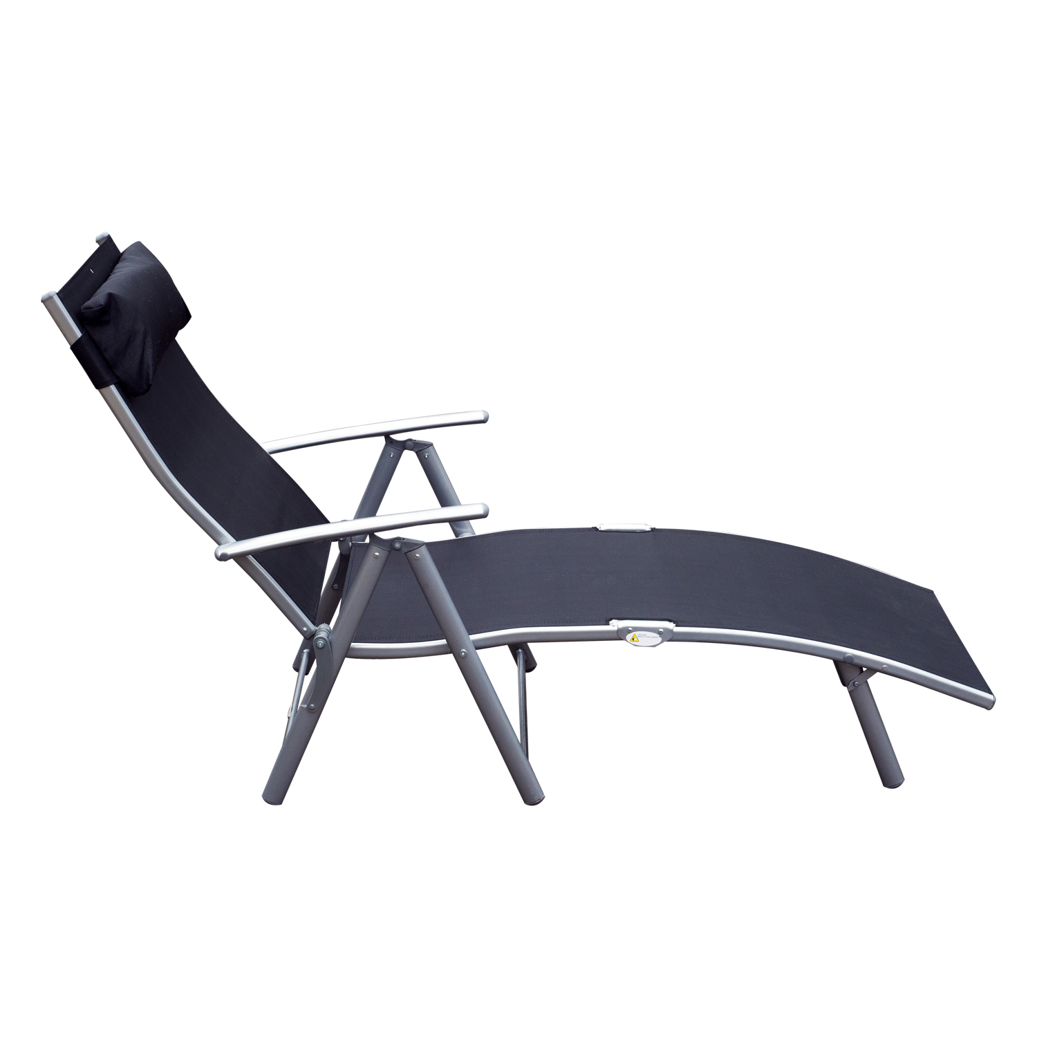 Patio Folding Chairs Chaise Lounge Chair Folding Pool Beach Yard Adjustable