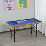 55 Small Play Billard Gaming Table With Full Set Of Balls Brushes And Chalk 842525184519 Ebay