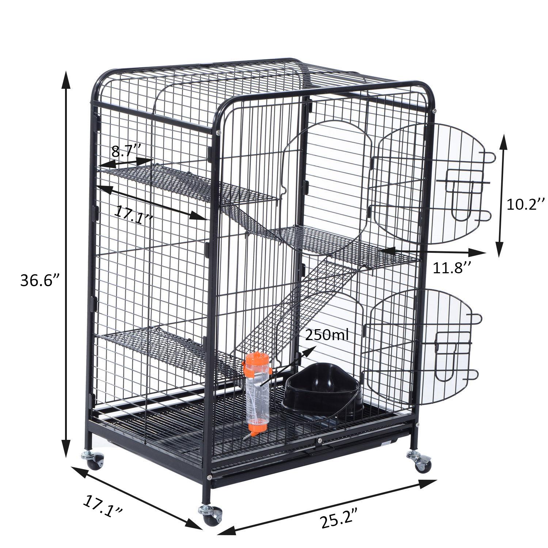 37 Ferret Cage Guinea Pig Rabbit Rat Small Animal Habitat