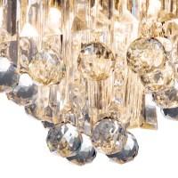 Crystal Chandelier Ceiling Mount Pendant Light Lamp Modern ...