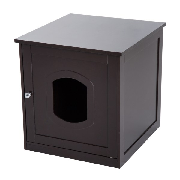 Pet Cat Litter Tray Box Toilet Puppy Washroom Crate
