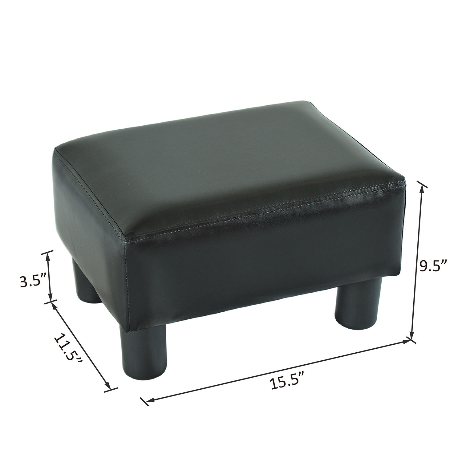 chair stool sofa tranquil lift modern faux leather ottoman footrest foot rest small