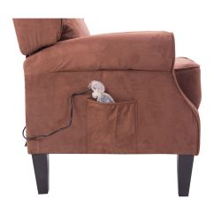 Heated Sofa Recliner Sectional Sofas Clearance Canada Deluxe Massage Chair Ergonomic Lounge
