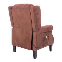 Heated Sofa Recliner Dwell Bed Review Deluxe Massage Chair Ergonomic Lounge