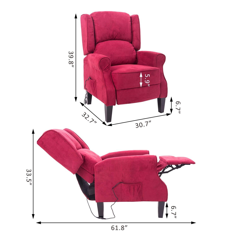 ergonomic chair lounge joybird desk deluxe massage recliner heated sofa