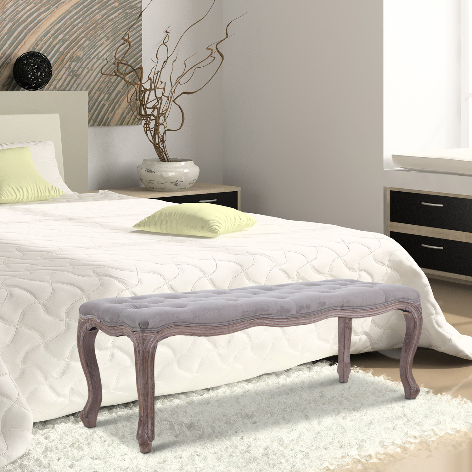 chairs for the end of your bed chair gym accessories upholstered bench tufted seat ottoman wood
