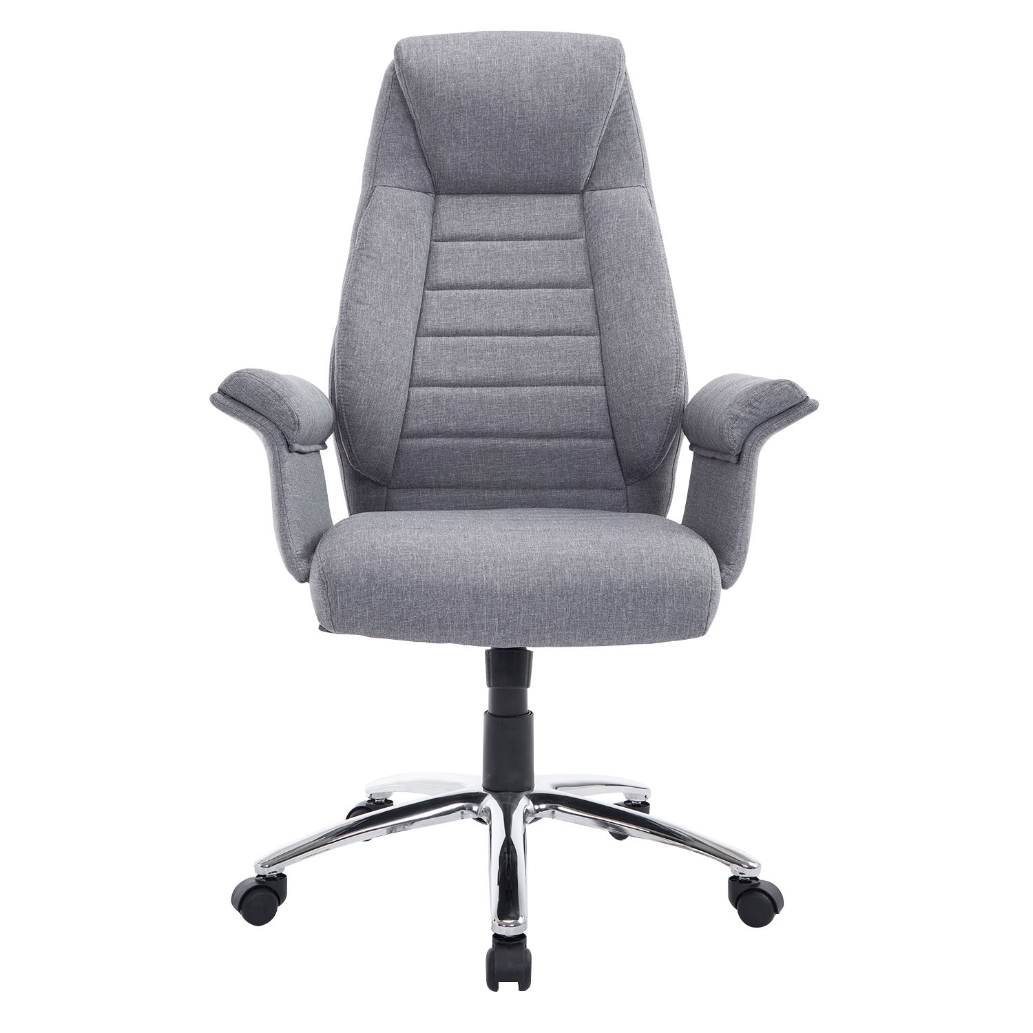 padded office chair bedroom malaysia rolling executive high back swivel