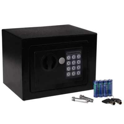 HOMCOM Electronic Digital Safe Box Keypad Lock Security ...