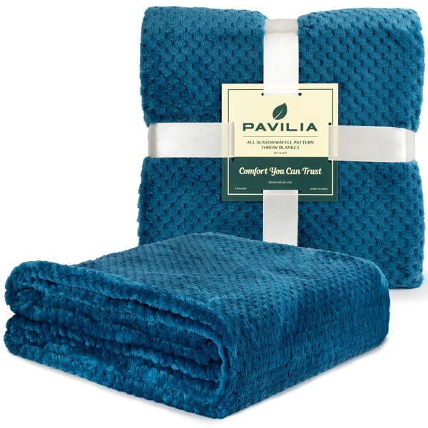 Throw Blanket Sofa Couch Bed Lightweight Microfiber