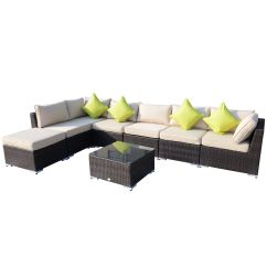 Rattan Outdoor Sofa Sets Uk Bed Modern Garden Furniture Patio Corner Set