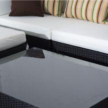 Outsunny 4pc Rattan Sofa Set Garden Outdoor Weave