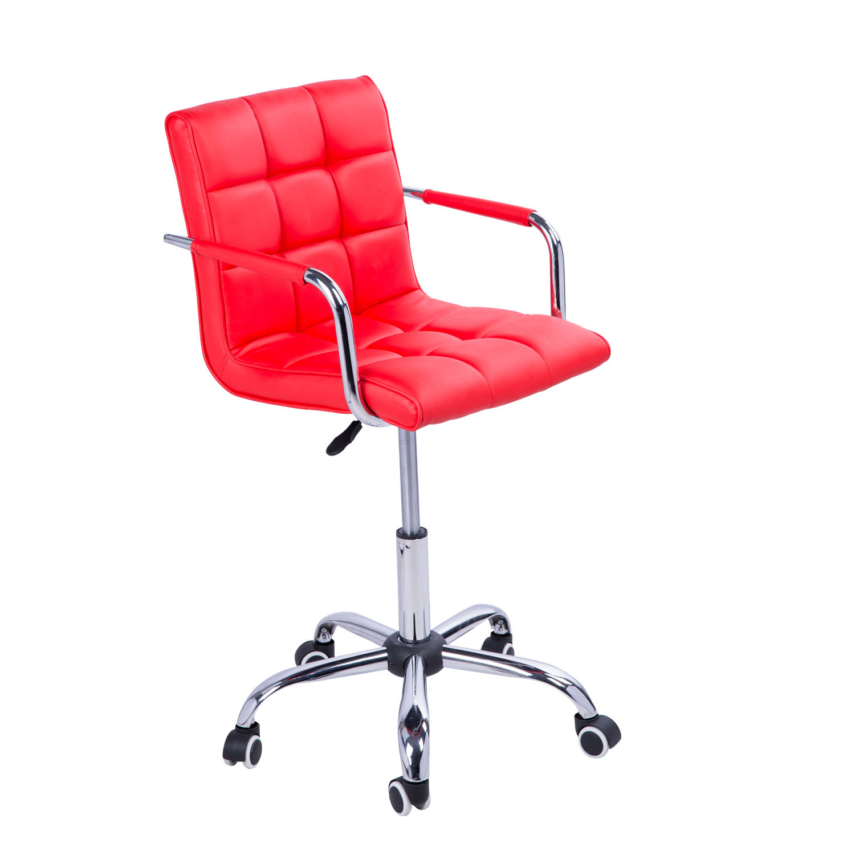 desk chair ebay uk cape cod beach swivel office pu leather adjustable computer