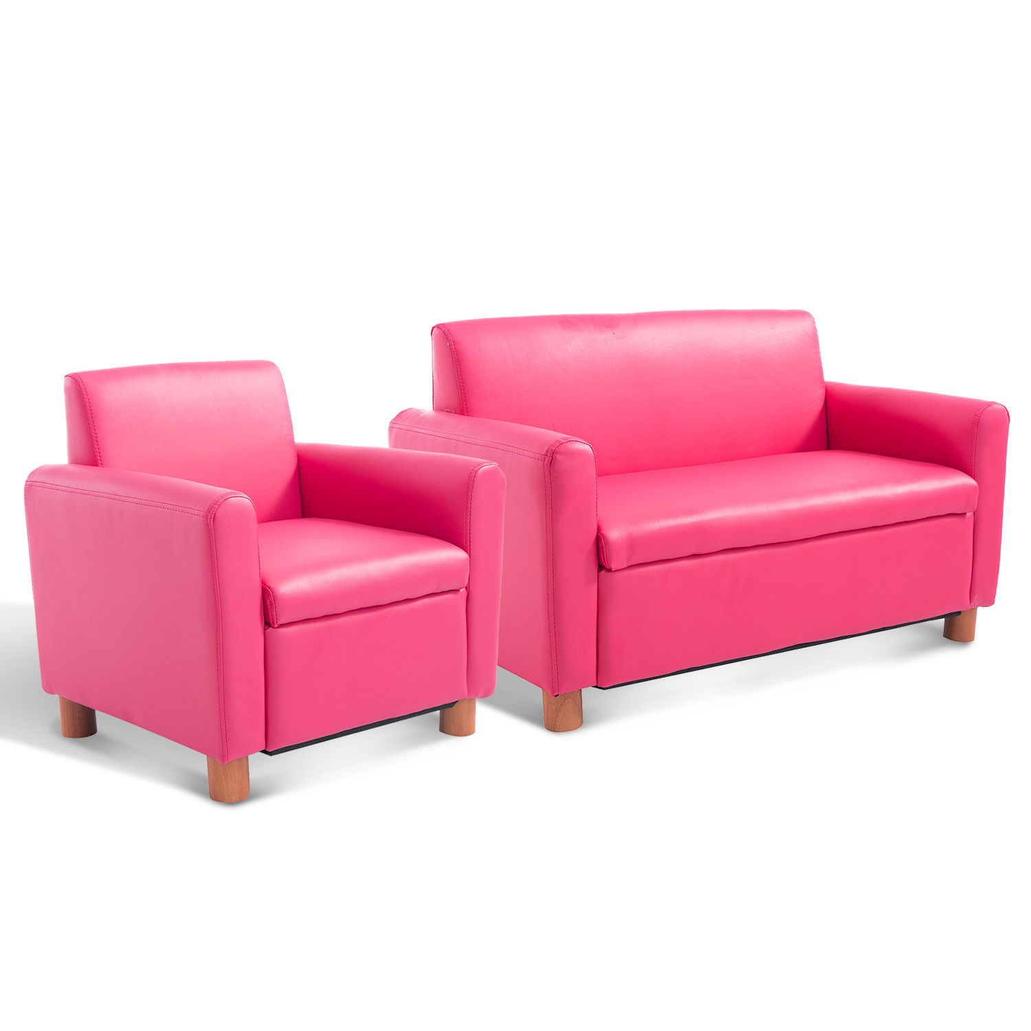 Toddler Couch Chair Details About Kids Sofa Single Pu Leather Armchair Pink Toddler Couch Lazybones Relax Quality